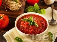 Италиански Сос Маринара за спагети и други видове паста и бели меса